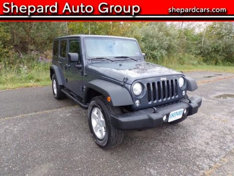 Pre-Owned 2017 Jeep Wrangler Unlimited Unlimited Sport S